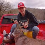 Kordale Travis of West Union, W.Va. shared this pic...but didn't give us any more information about the buck.