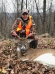 Linda Ferell of Kenova, W.Va. killed this fantastic buck on her first ever solo hunting trip.