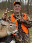 Patrick Dye of Big Bend, W.Va. shot this big buck near his home as he was going home from his stand on Thanksgiving day 2020.