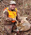 Paul Crumrine of Morgantown, W.Va. killed this ten point buck on the second day of the 2020 rifle season while hunting in Randolph County, W.Va.
