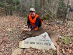 Paul Crumrine of Morgantown with a buck killed during the 2020 rifle season in Randolph County, W.Va.