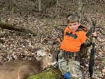 Conner Gregory of Summersville, W.Va. turned five on Wednesday, November 25 and took the seven point that he has been watching all year long on camera. It was his second book ever.