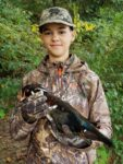 Clark Fitzwater of St. Albans, W.Va. killed his first ever duck--this wood duck--while hunting at the Green Bottom WMA in West Virginia during the 2020 season.