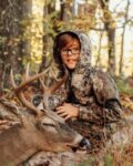 Paxson Jordon Ross, age 8,  of Clarksburg with his first buck, killed at 20 yards with a cross bow.
