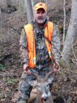 Walter Underqood of Mount Hope, W.Va. shows off a nice 10 point buck he killed.