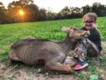 Jeremy Allen of Given, W.Va. shares this picture of his 5-year old daughter with her first deer killed with a crossbow on the opening day of the 2020 archery season in Putnam County, W.Va.