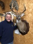 Mike Comer of Ravenswood, W.Va. nailed his trophy buck of a lifetime during the 2020 archery season hunting at dusk in a driving rainstorm under a persimmon tree.