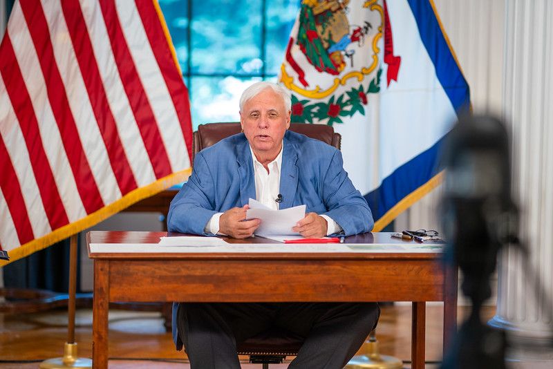 Invited to explain IRS liens, Governor Justice instead calls coverage unfair - WV MetroNews