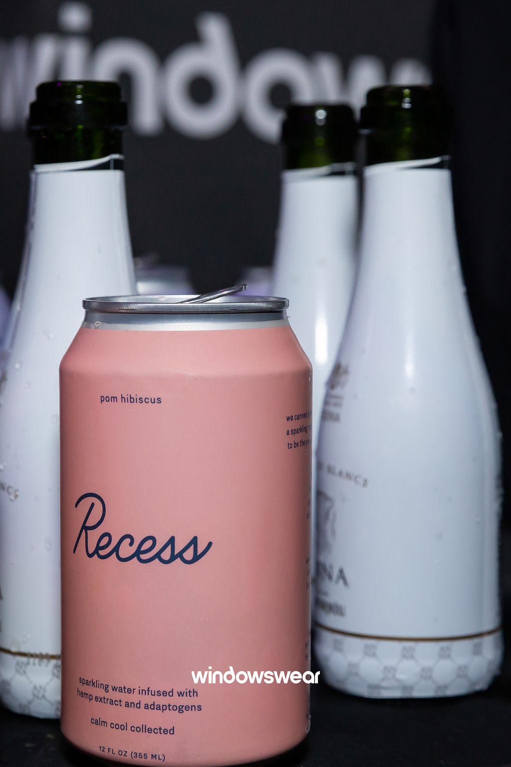 Recess CBD (Sparkling Water Sponsor) & Codorníu (Sparkling Wine Sponsor)