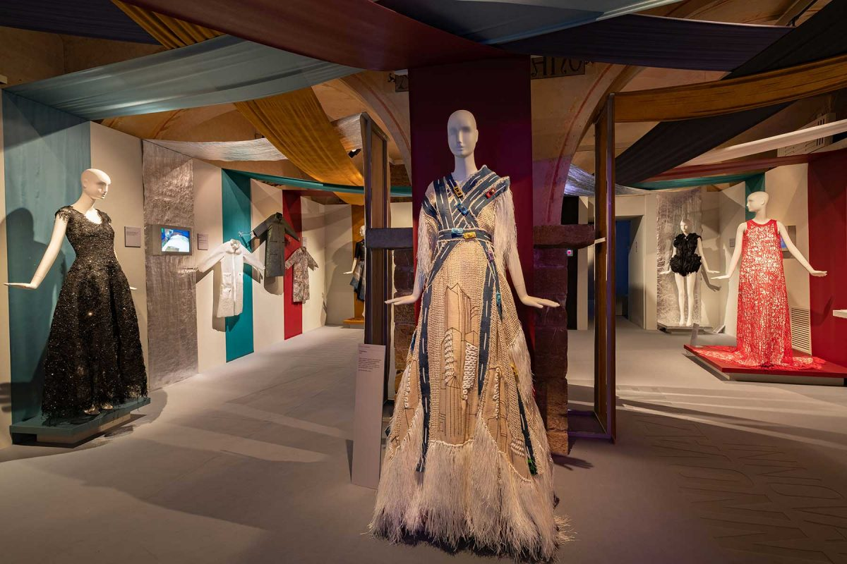 Sustainable Thinking The Latest In Eco Fashion At Museo Salvatore Ferragamo Florence Windowswear