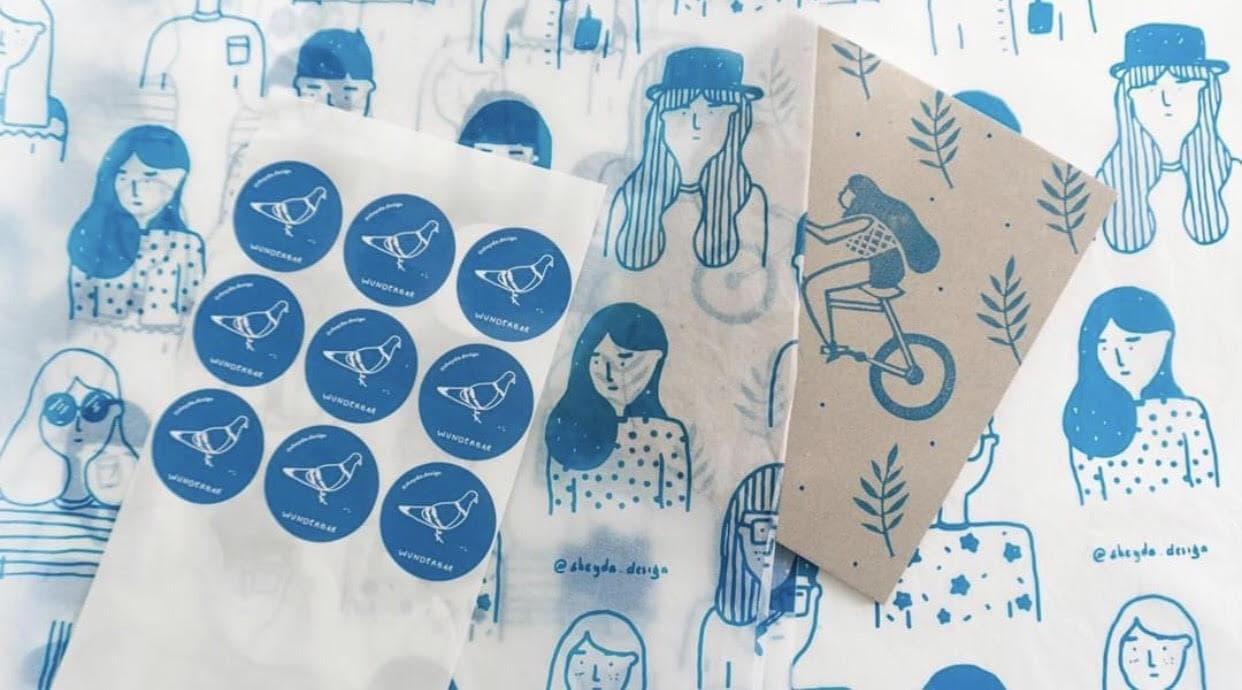Custom stickers by Sheyda Design