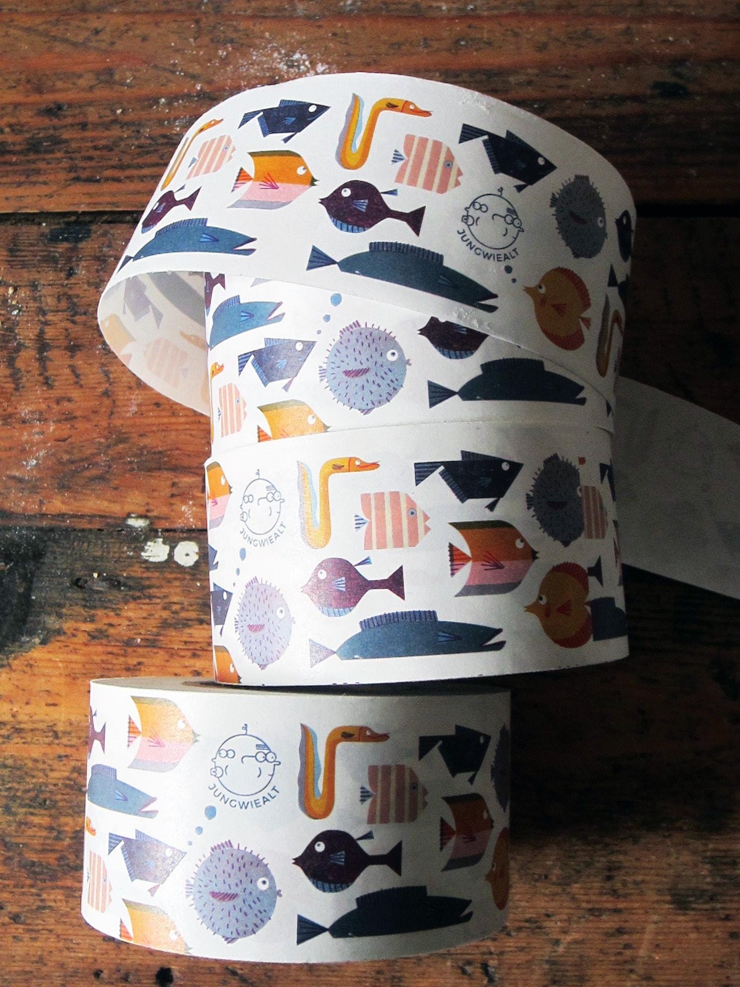 noissue custom tape by Barbara Dziadosz