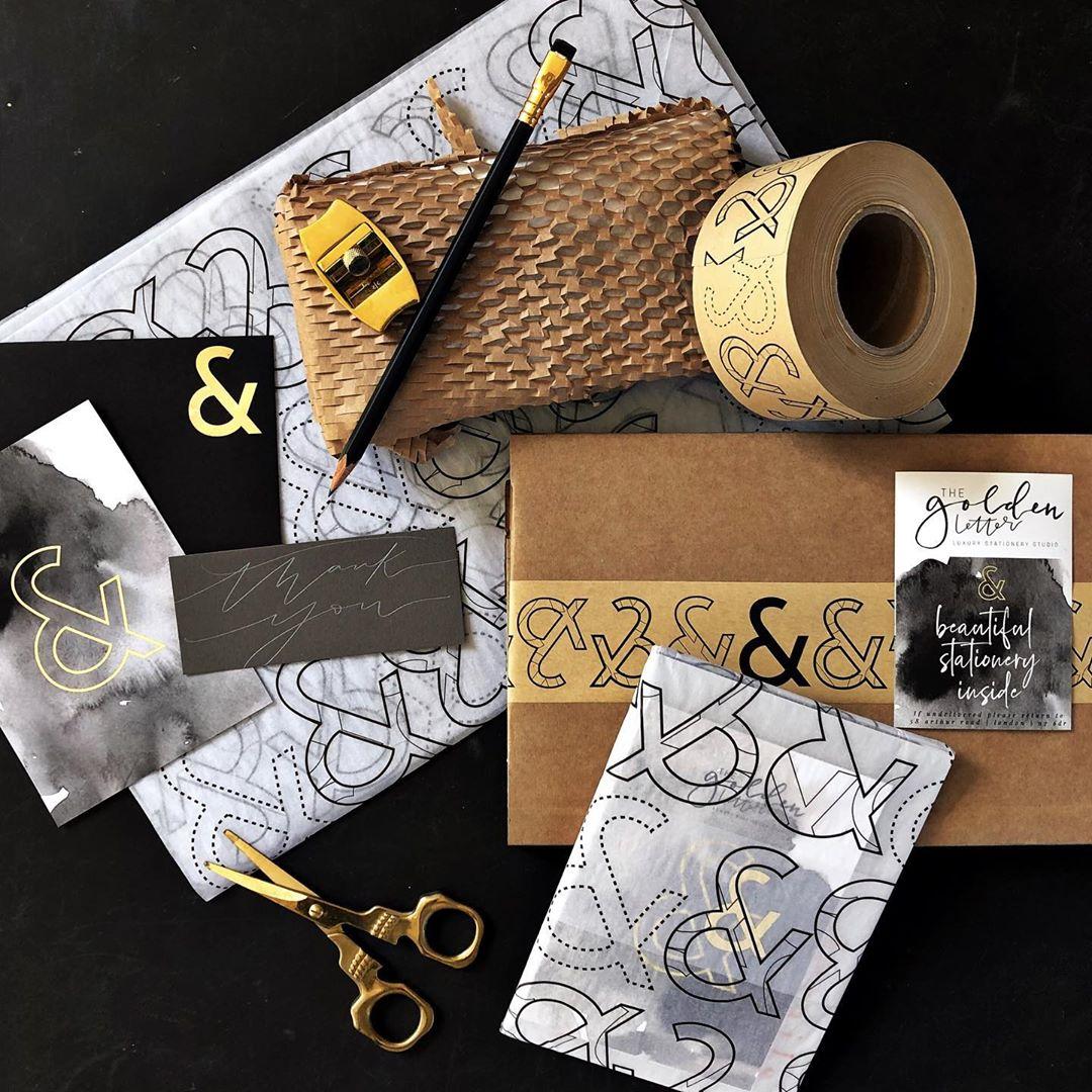 noissue custom tape by The Golden Letter