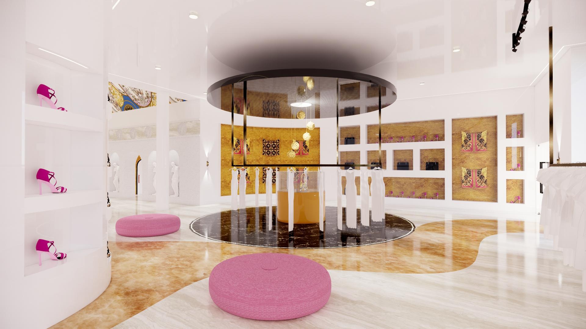 Versace Womenswear Boutique | Sheridan College<br/><i>Jessica Gordon</i>