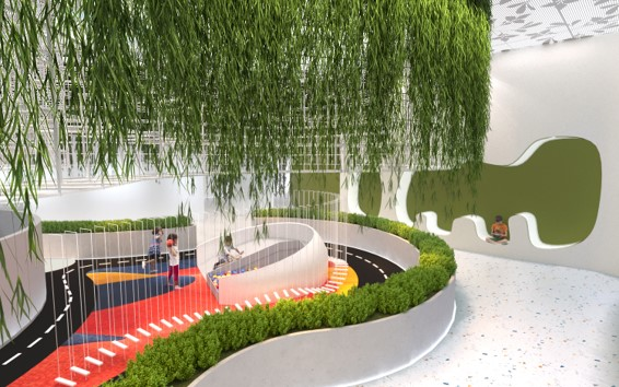 Healing Spot | Sheridan College<br/><i>Lihua Zhang</i>