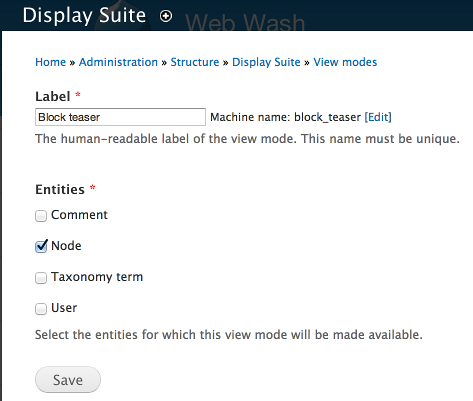 Handling View Modes and Regions with Display Suite in Drupal