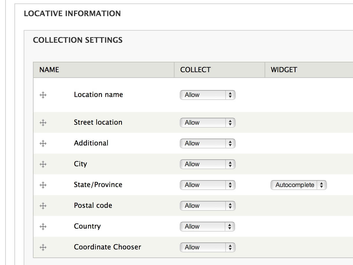 How To Store Addresses In Drupal  Using Location Module WebWash - Us zip codes list by city