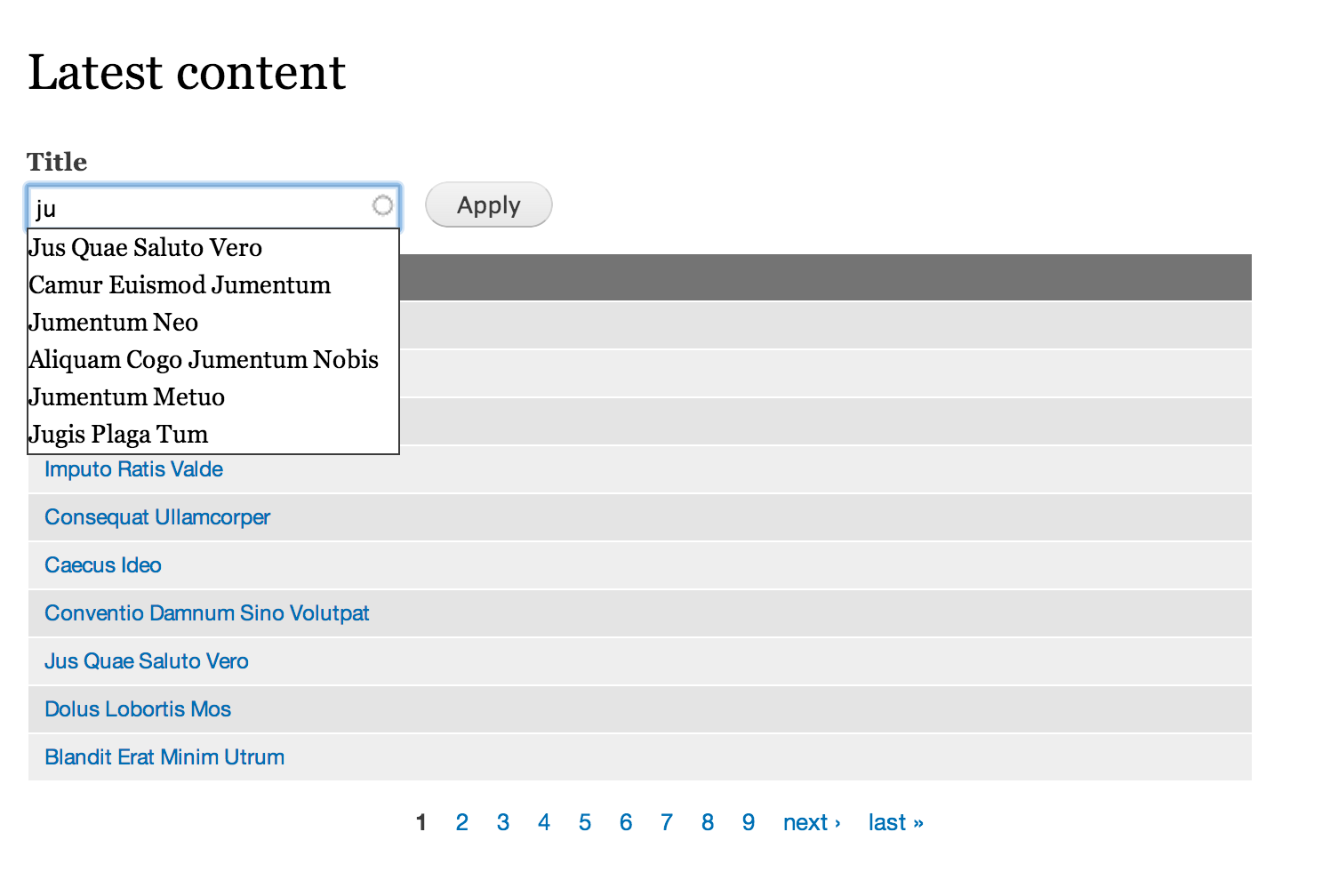How to Add Autocomplete Functionality to Text Filters in Views - WebWash