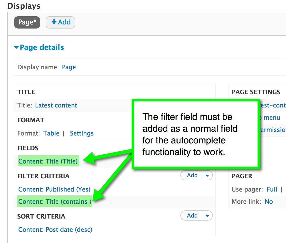 How to Add Autocomplete Functionality to Text Filters in