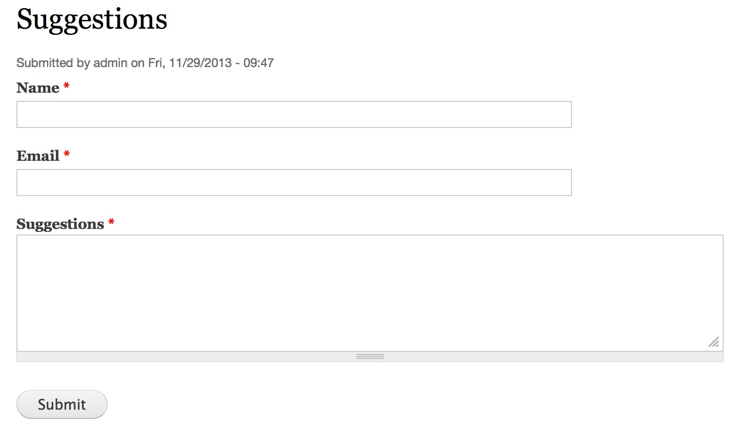 How to Capture Email Addresses Using Webform and MailChimp in ...