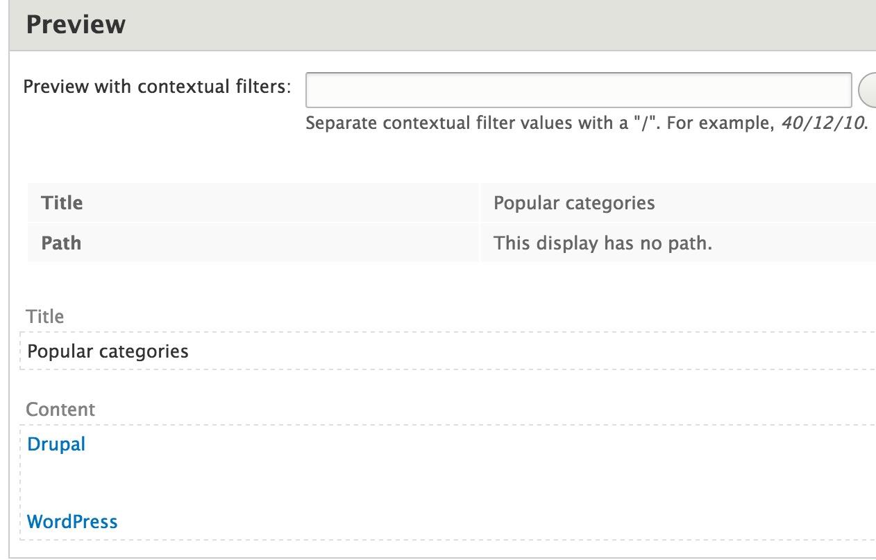Build a blog in drupal 8 using views webwash fig 111 baditri Gallery