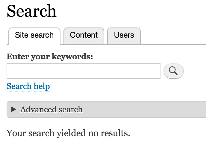 How to Create a Search Page in Drupal 8 - WebWash