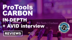 Sonic LAB: Pro Tools  Carbon HDX DSP Audio Interface Review
