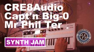 Friday Fun - Cre8audio Capt'n Big-O, Mr Phil Ter and Clouds