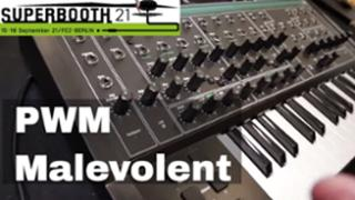 Superbooth 21: PWM Malevolent - New UK Mono Synth
