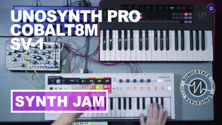 Friday Fun: Uno Synth Pro, Cobalt8, Pittsburgh SV-1