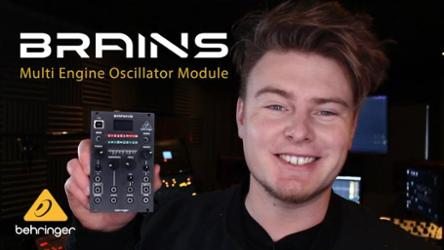 Behringer BRAINS - Digital Module With 20 Synthesis Engines