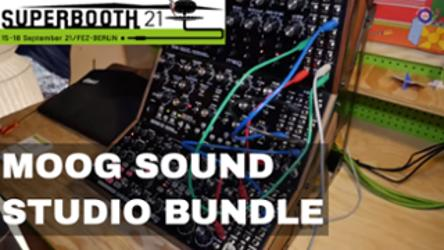 Superbooth 21: Moog Sound Studio Bundle