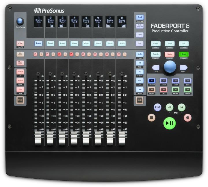 Presonus Announce FaderPort-8