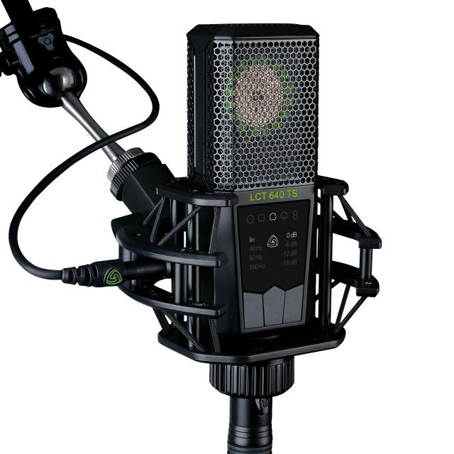Mic Allows Polar Pattern Change After Recording