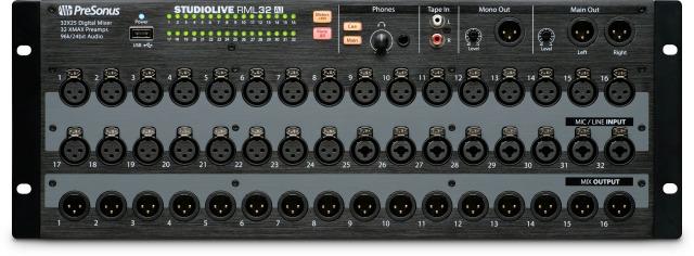 More PreSonus Rack-Mount Digital Mixers