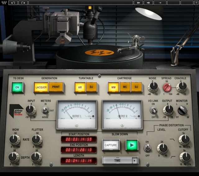 Waves Introduces Abbey Road Vinyl Plugin