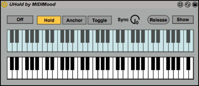 Free Keyboard Note Holder For Ableton
