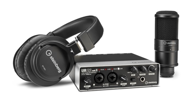 Steinberg Offers Complete Recording Solution
