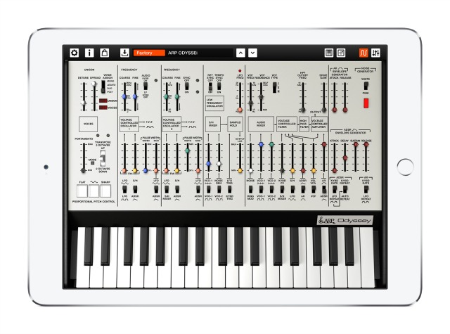 An ARP Odyssey For Your iPad And iPhone