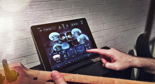 Artificial Intelligence Drum App For iPad
