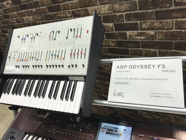 ARP Odyssey With Full Size Keys On The Way?