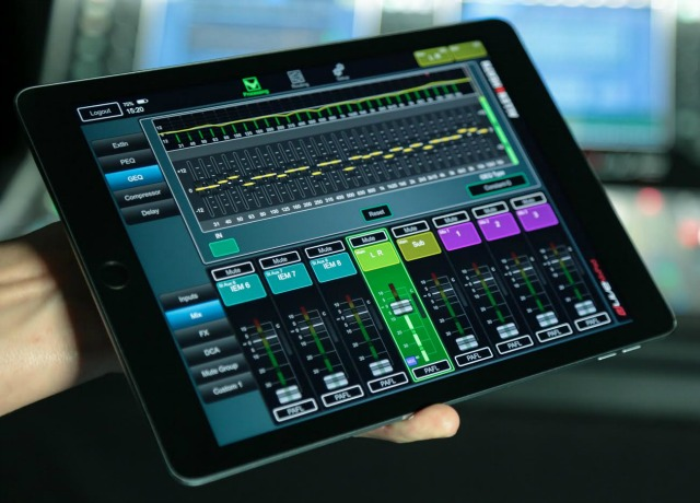 Two iPad Apps For dLive