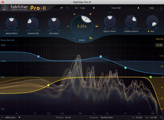 FabFilter Pro-R Reverb Plug-In Launches