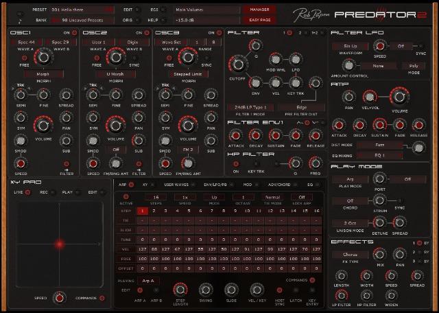 New Version Of Predator Synth
