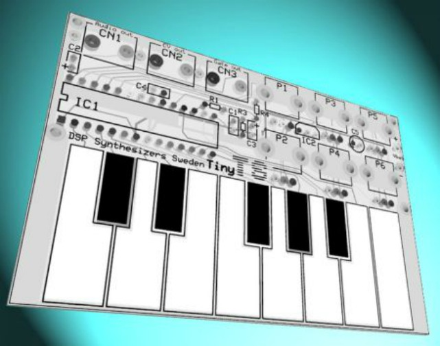 Credit Card-Sized Synth