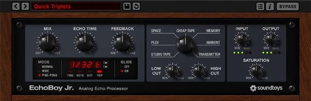 Soundtoys Introduces EchoBoy Jr. Delay Plug-In