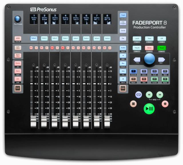 New Presonus DAW Controller Ships