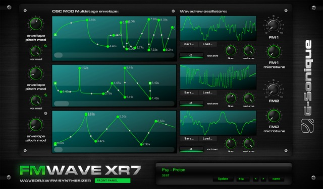 Wave Drawing FM Synth For Windows