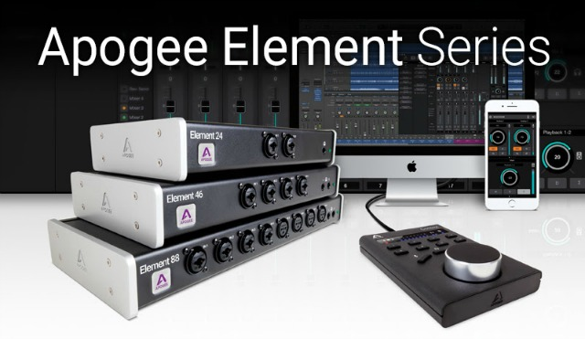 Update For Apogee Element Audio Interfaces