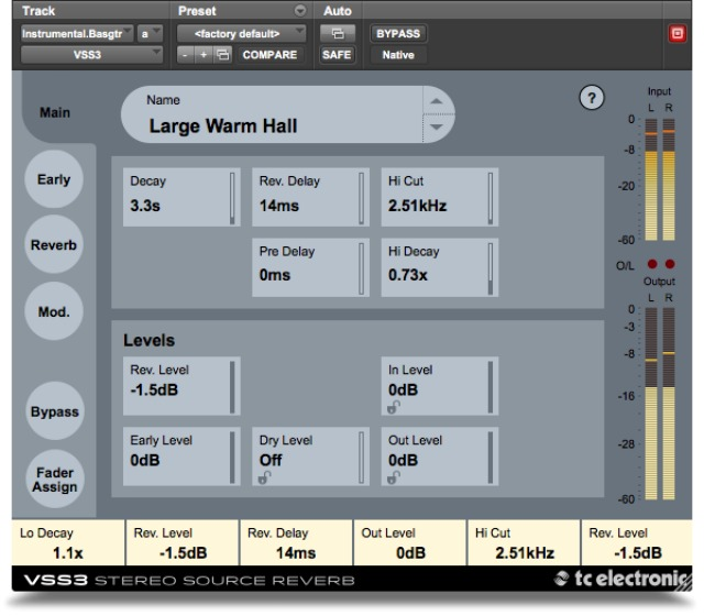 TC Electronic Reverb For Your DAW